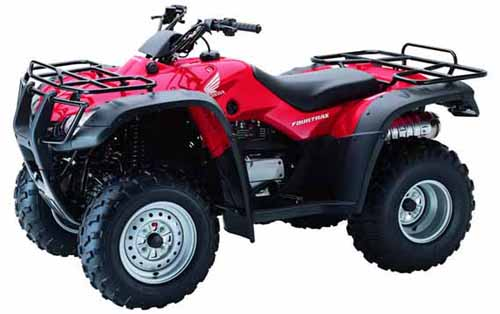 Download Honda Trx350 Tm Te Fe Fm Atv repair manual