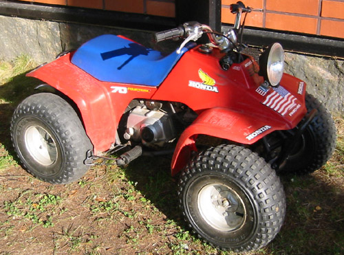 Download Honda Trx70 Atv repair manual