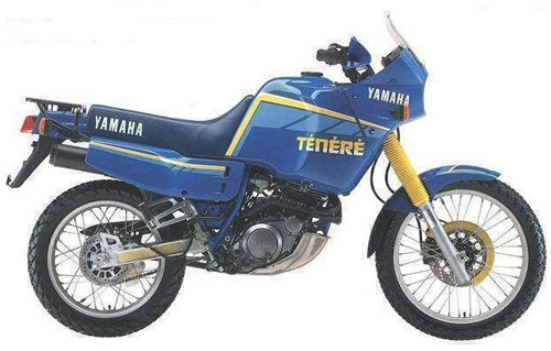 Download Yamaha Xt-600 Xt-600z Italian repair manual